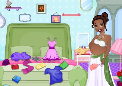 Pregnant Tiana Messy Room Cleaning