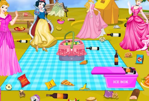 Princess Picnic Spot Cleaning