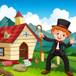 G4K Magician Boy Rescue Game