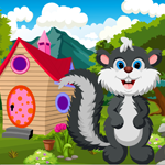 Cute Skunk Rescue Game