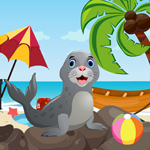 G4K Cute Seal Rescue Game