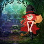 G4K Cute Witch Rescue 2 Game
