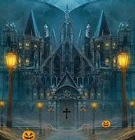 8bGames Halloween Abandoned Palace Escape
