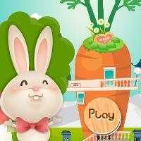 GenieFunGames Cute Little Bunny Rescue