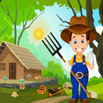 Games4King Cute Farmer Rescue