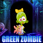 Green Zombie Girl Rescue Game