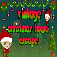 Escape007Games-Vintage Christmas House Escape