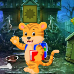 G4K Cartoon Tiger Rescue Game