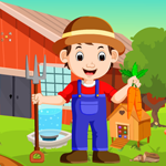 Games4King Cartoon Young Farmer Escape