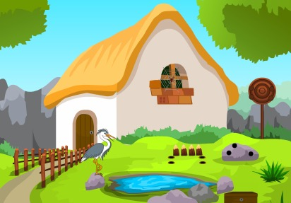 KnfGames Forest Little Cottage Escape