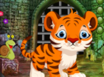 games4king Cute Tiger Cub Rescue