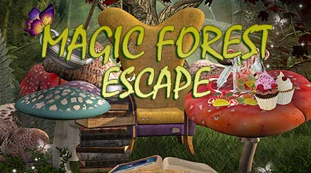 365Escape Magic Forest Escape