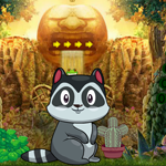 Games4King Cute Raccoon Escape