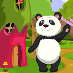 Games4King Cute Panda Rescue