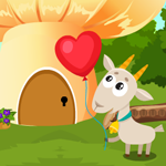 Games4king Cute Goat Rescue
