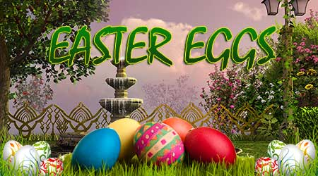 365Escape Easter Eggs