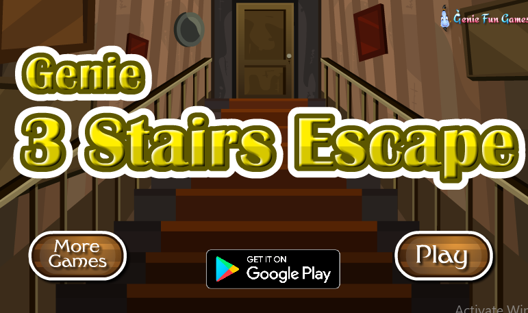 GenieFunGames Genie 3 Stairs Escape