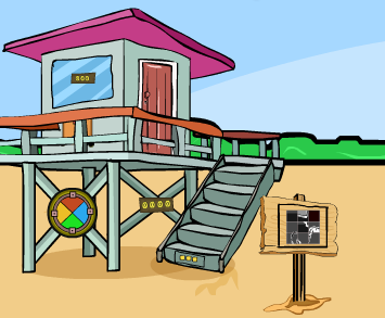 GenieFunGames Genie Beach Tower Rescue