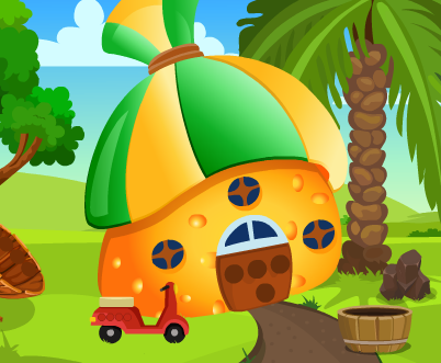 Games4King Cat Rescue From Mushroom House