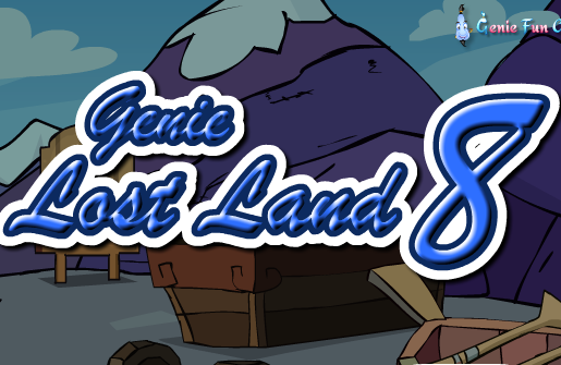GenieFunGames Genie Lost Land Escape 8