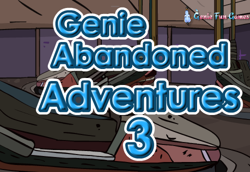 GFG Genie Abandoned Adventures Escape 3