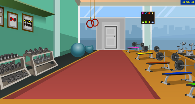 Games4Escape Fitness Gym Escape