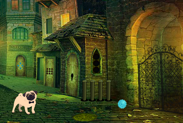 8bgames Dog Street Escape