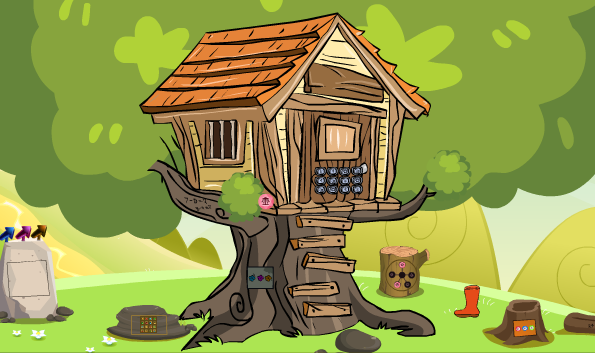 GenieFunGames Billy Tree House Escape
