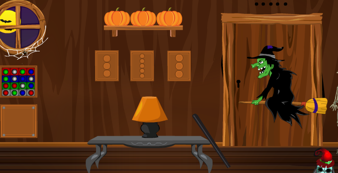 Games4Escape Halloween Witch Door Escape