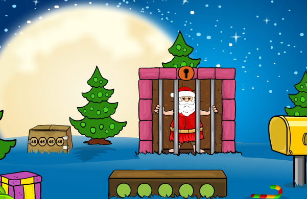 Games2Jolly-Great Santa Claus Escape