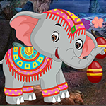 Games4king Temple Elephant Escape Game
