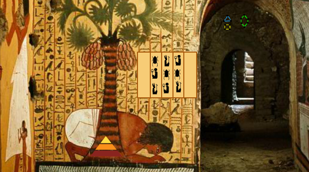 Genie Fun Games - Inside Egypt Pyramid Escape