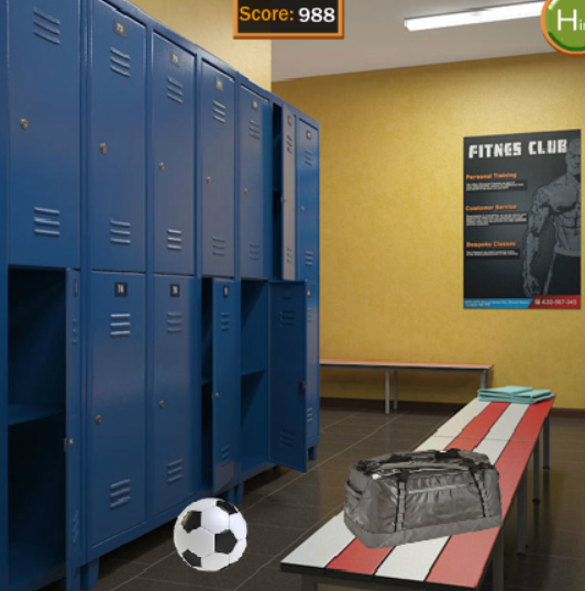 8b Sports Locker Room Escape