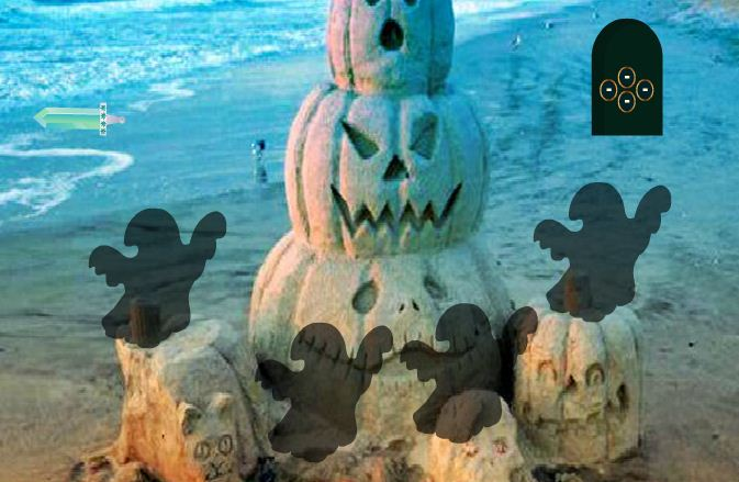 WowEscape - Halloween Dracula Beach Escape