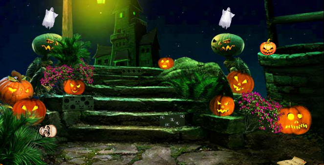 Mirchi Green Halloween Ghost Escape