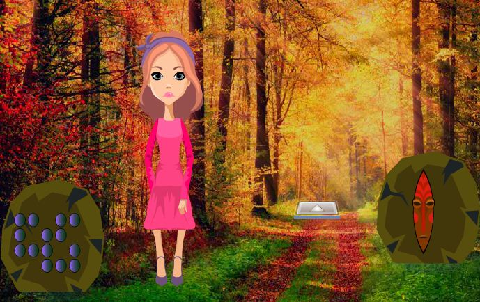 Games2Rule -Escape The Girl From Autumn Forest