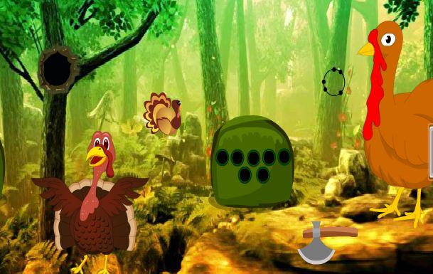 Games2Rule - Giant Turkey Forest Escape