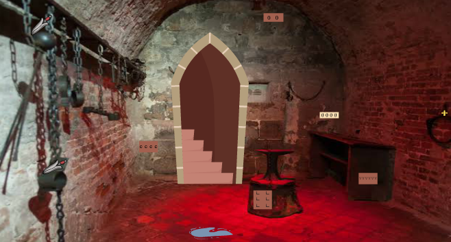GFG Castle Dungeon Room Escape
