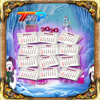 New Year Find The Calendar