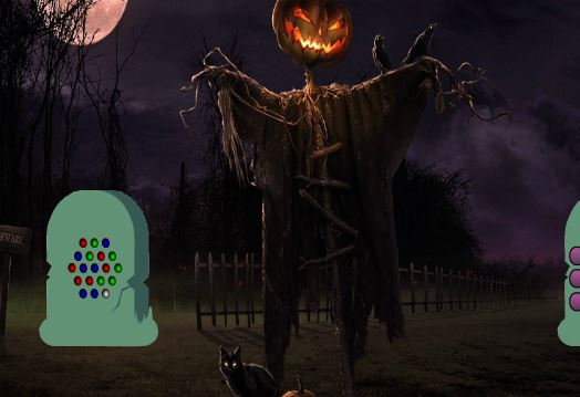 BigEscapeGames Halloween Pumpkin Haunted Forest Escape