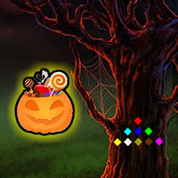 WowEscape Halloween Candy Forest Escape