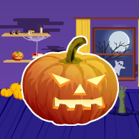 G4E Purple Halloween Room Escape