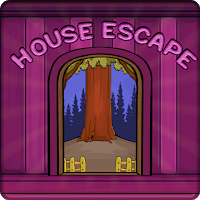 G2J Pink Wooden House Escape
